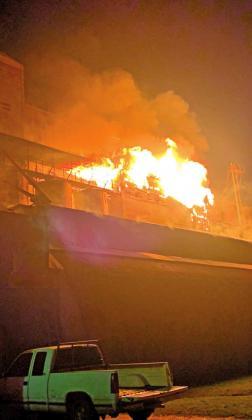 Multiple alarm fire at Garwood rice dryer