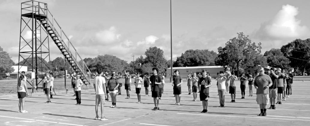 Cardinal band begins summer practice