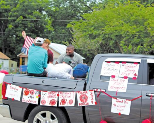 CHJS sends eight graders off to HS with parade
