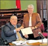 County receives Certificate of Achievement for financial reporting