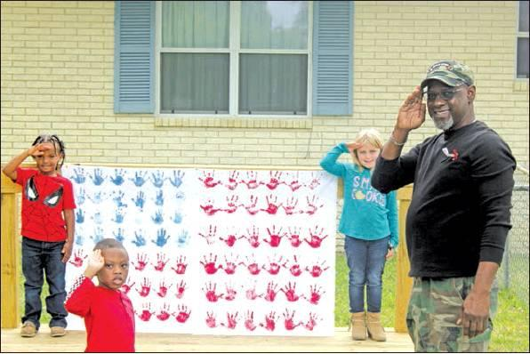 Kingdom Kids Academy honors veterans