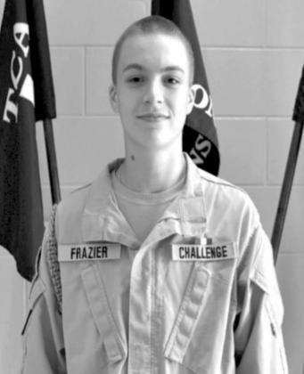 Cadet Private Kinsey J. Frazier named TCA Cadet of the Week