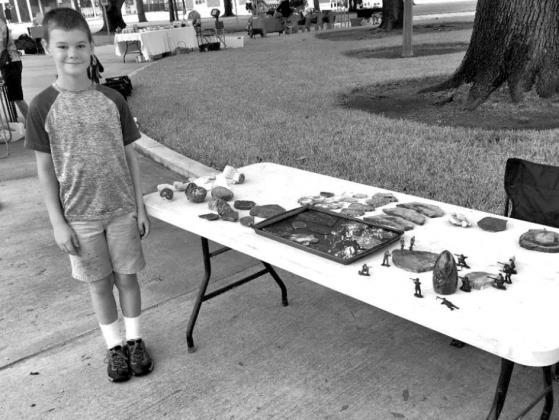 Barnett brothers are Saturday on the Square vendors