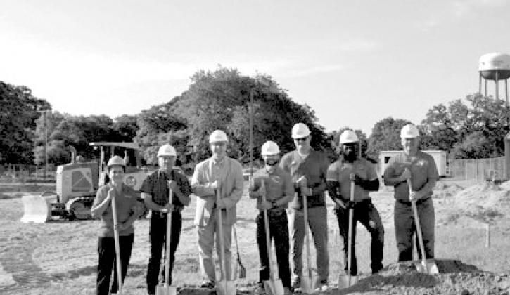 Ground breaking for CHS softball field