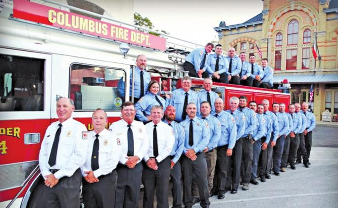 Emmel, Templeton named CVFD Firefighters of the Year