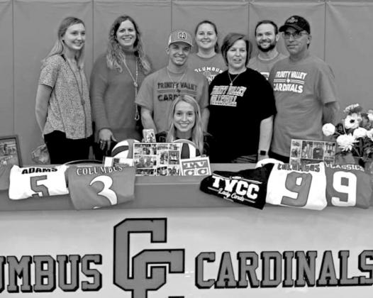 Lady Cards sign to next level