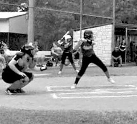 Columbus Little League girls in action