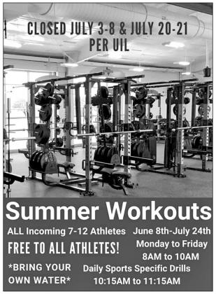 Tips, info for Raider workouts