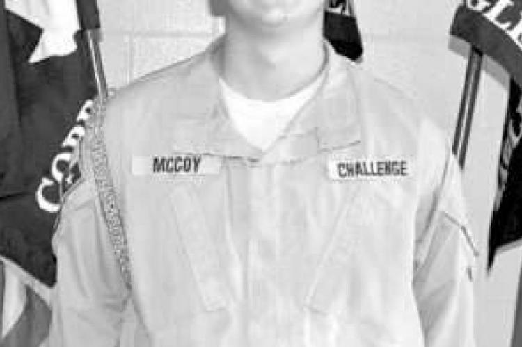Cadet Aiden McCoy is TCA Cadet of the Week