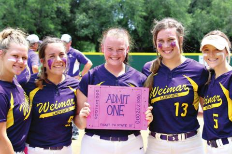 Weimar Lady Cats earn ticket to State