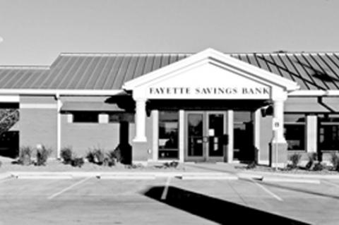 Grand Opening of Fayette Savings Bank in Weimar