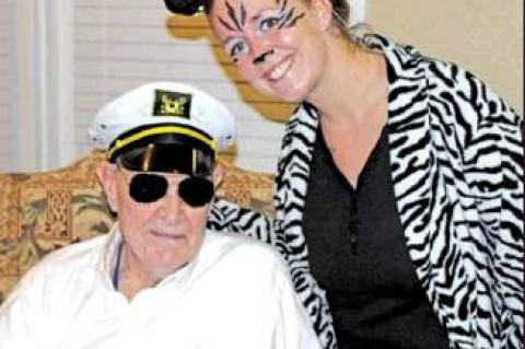 All treats, no tricks at Oaks Assisted Living Halloween event