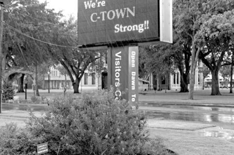 Market rained out, still C-Town Strong