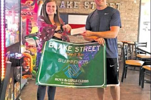 Blake Street donates to Boys and Girls Club