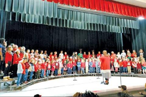 Columbus Elementary Christmas concert