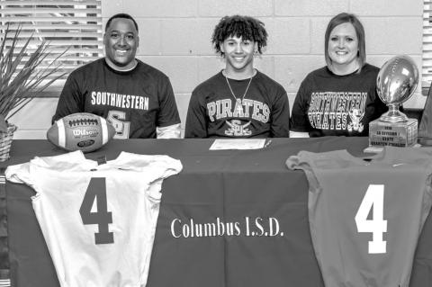 BARNES SIGNS WITH SOUTHWESTERN UNIVERSITY