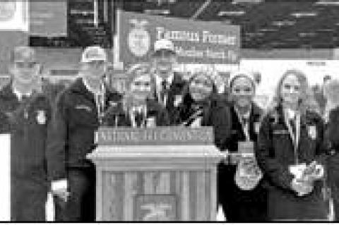 Rice FFA attends national convention