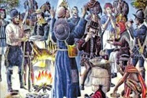 Was the real first Thanksgiving on Texas soil?