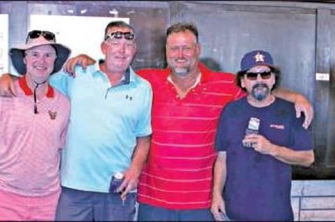 TOP WINNERS FOR BILL AND BUB GOLF TOURNEY