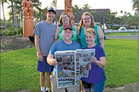 Citizen travels to Hawaii