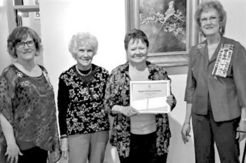 DAR honors CCWO and Sewing Lab