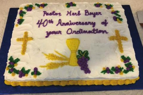 Beyer's 40th ordination anniversary celebrated