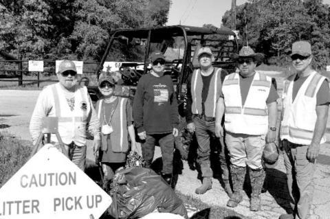 Oakridge Ranch WMA cleans CR 215