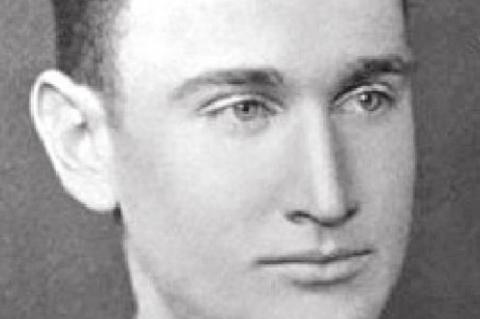 WWII hero Lt. William R. Cook
