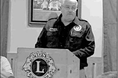 Lions learn about county emergency management
