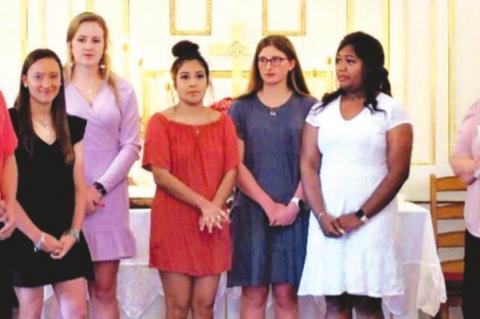 2021 Elaine Dahse Feldcamp Memorial Scholarship Winners in Colorado County