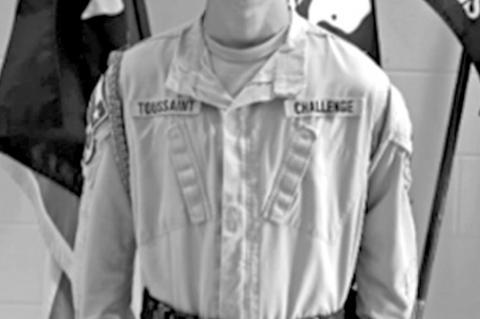 TCA Cadet of the Week: Cadet Jonathan Toussaint