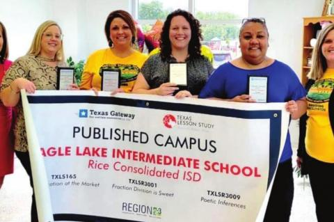 ELI TEACHERS RECOGNIZED FOR PUBLISHED LESSONS