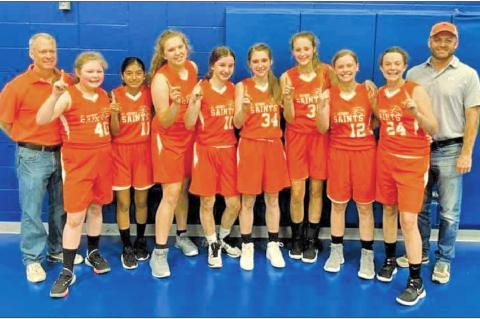 St. Anthony School basketball team makes school history