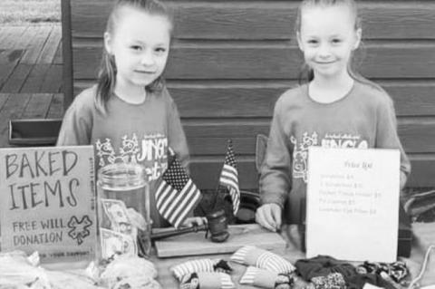 Youngsters learn to be local vendors