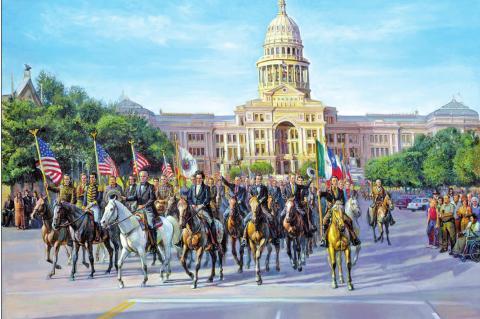 Parade of Texas Legends