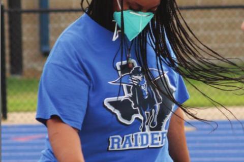 Raider Moms Practice a hit