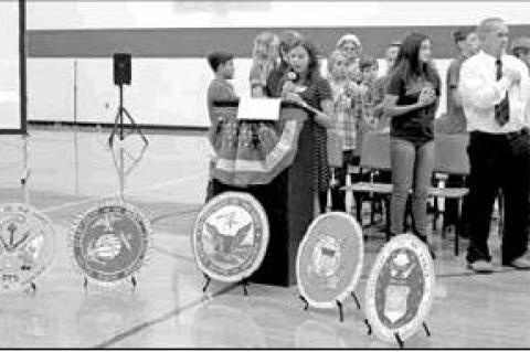 CJHS honors veterans