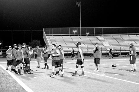Rice Raiders rock the midnight practice