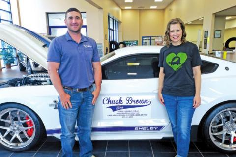 Chuck Brown Ford Donates $5,000 Matching Funds to Turtle Wing