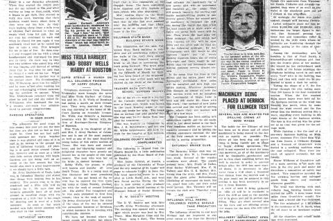 100 years ago Citizen reported on flu epidemic near the area
