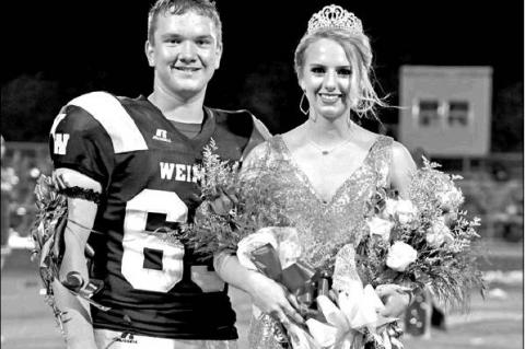 Hickmann crowned WHS Homecoming Queen