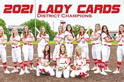 Lady Cards are Bi-District Champs