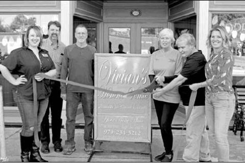 Columbus C of C welcomes Vivian's Historic Venue