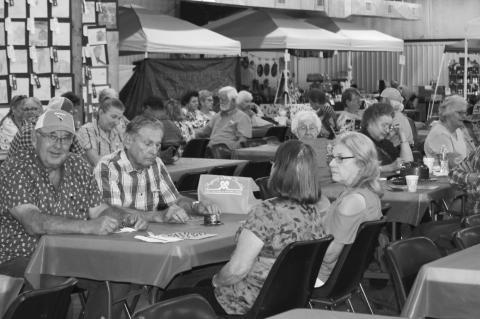 Senior Citizen Day at the fair