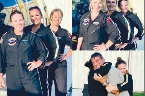 All female medical flight makes history