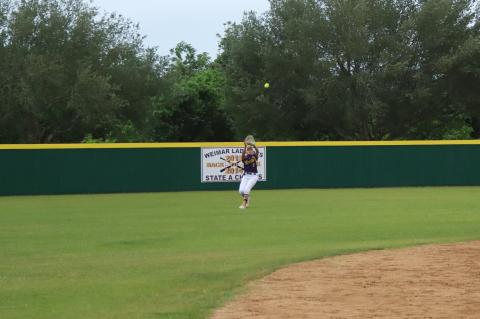 Camille Garcia with a great catch