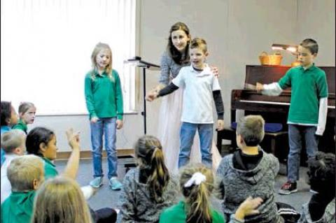 Czech pianist visits St. Michael
