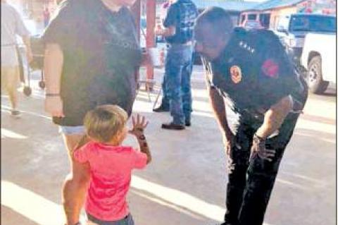National Night Out success in Eagle Lake