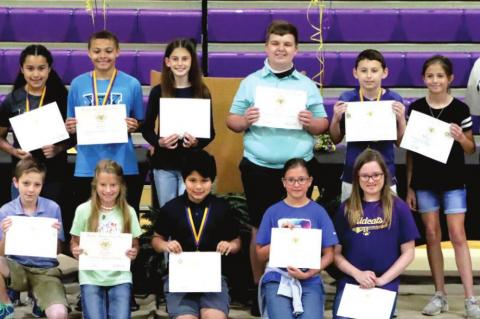 WES FIFTH GRADE AWARDS PRESENTED