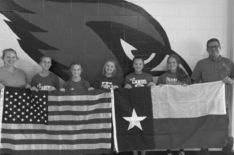 WoodmenLife donates flags to CJH